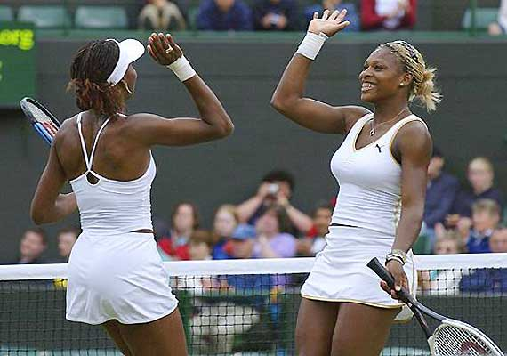 williams sisters get wild card for us open doubles