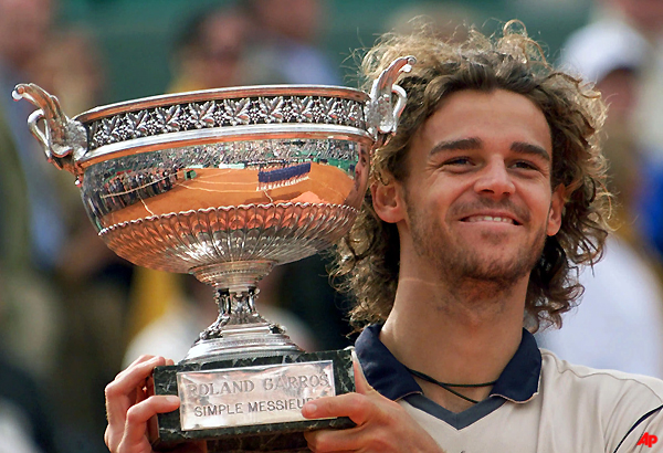 3 time french open champ kuerten elected to hall