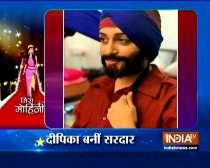 Dipika Kakar disguises as Pathan for Kahaan Hum Kahaan Tum