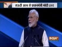 PM Modi addresses the Future Investment Initiative (FII) in Riyadh, Saudi Arabia