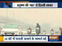 Delhi air quality worsens as stubble burning increases in Punjab and Haryana