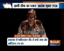 PoK is terrorist controlled part of Pakistan, says Army chief Bipin Rawat