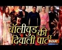 Bollywood celebs dazzle at Ramesh Taurani Diwali bash