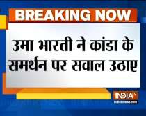 Uma Bharti advices BJP to refrain from