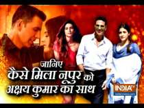 Nupur Sanon reacts to the success of her song Filhall with Akshay Kumar