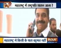 Maharashtra: Congress leader Ahmed Patel, Mallikarjun Kharge to meet Sharad Pawar shortly