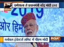 Prime Minister Modi addresses Global Investors' meet in Dharamshala