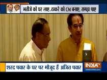Maha Pawar-Play: Ajit Pawar reaches out to Sharad Pawar, meets uncle at his residence