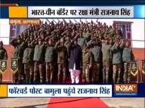 Rajnath Singh visits Indian Army