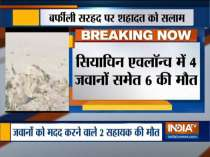 6 killed as Avalanche hits Indian army post in Himalayas