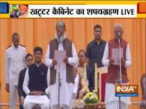 Haryana CM ML Khattar expands cabinet; Anil Vij and 9 other takes oath as cabinet minister