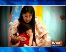 Naira breaks down as Kairav is taken to hospital
