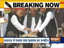 Mulayam Singh Yadav celebrates 81st birthday in Lucknow