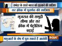 Pakistani terrorists trying to enter Gujarat; BSF, Coast Guard on high alert