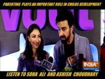 Soha Ali Khan talks about importance of good parenting