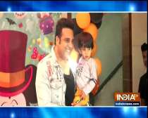 TV star kids attend the birthday party of Karanvir Bohra