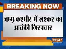 Jammu and Kashmir police arrests terrorist in Sopore