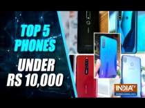 Top 5 smartphones under Rs. 10,000 in India: Redmi Note 8, Realme 5s and more