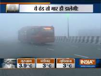 Low visibility due to dense fog in Delhi-NCR