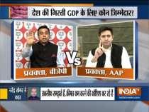 Kurukshetra: Opposition attack govt over falling GDP and rising onion price