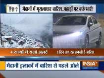 Heavy rains lash North India