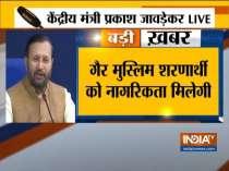 Prakash Javadekar addresses media on Citizenship Amendment Bill