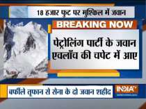 2 personnel killed as avalanche hits Army patrol in Siachen glacier