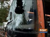 Truth behind viral video that claims Delhi Police set fire to bus during Anti-CAA protest