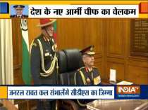 Gen Manoj Mukund Naravane takes charge as new Army Chief