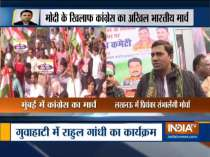 Congress celebrates foundation day with nationwide flag marches against CAA, NRC