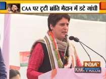 Modi government is threatening people through CAA and NRC: Priyanka Gandhi