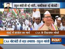Congress takes out protest rally against CAA, NRC in Mumbai