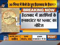 NHRC issues notice to police on encounter of accused in Hyderabad