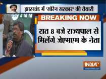 Jharkhand govt formation: Hemant Soren to stake claim at 8 pm today