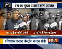 1,023 fast track courts to be set up for rape cases: Ravi Shankar Prasad