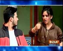 Ashnoor Kaur shoots Tiktok video with friend