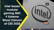 Intel teases modular gaming NUC 9 Extreme