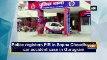Police registers FIR in Sapna Choudhary