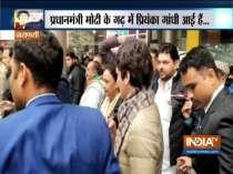 Priyanka Gandhi reaches Varanasi, will meet kin of those arrested during CAA Protest