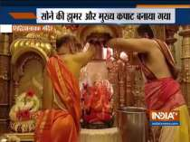 Siddhivinayak Temple idol gets golden ceiling and door after 35-kilo gold donation