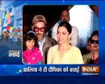 Deepika Padukone celebrates birthday with acid attack survivors in Lucknow