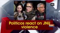 Politicos react on JNU violence