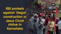RSS protests against