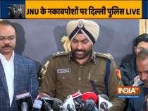 Delhi Police addresses press conference, blames Aishe Ghosh for JNU violence