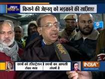 BJP leader Vijay Goel and Congress leader Salman Khurshid reacts to violence in JNU campus