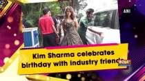 Kim Sharma celebrates birthday with industry friends