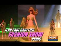 Designer Jean Paul Gaultier spreads magic on stage with his designs in haute couture spring-summer 2020 show in Paris