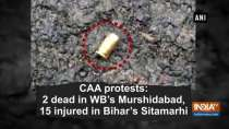 CAA protests: 2 dead in WB