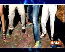 Varun Dhawan and Shraddha Kapoor dance with Jethalal. Watch video
