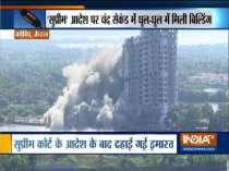 Maradu apartments demolition: Golden Kayaloram demolished, all four apartments brought down